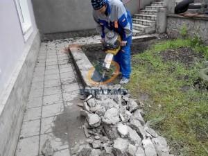 къртене на бетонен борд в софия