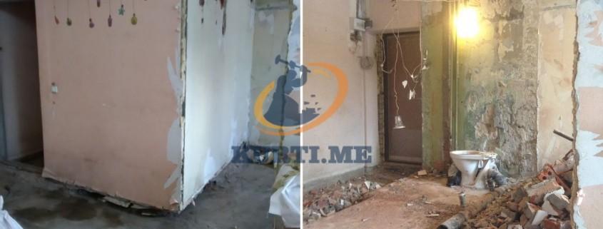 къртене на стени тухлени панелни и бетонени в софия
