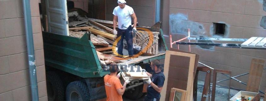 почистване на строителни отпадъци в софия